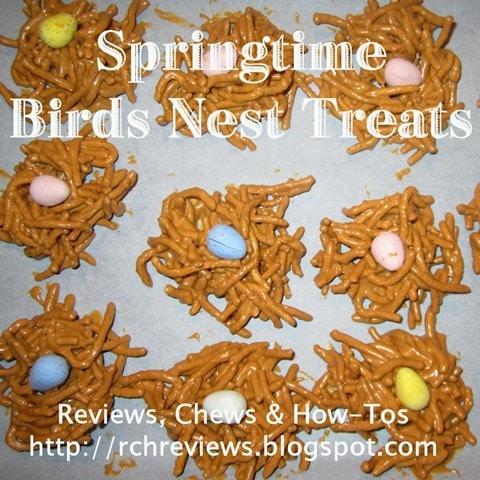 Springtime Bird's Nest Treats