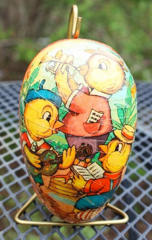 German Paper Candy Egg - virginiasweetpea.com
