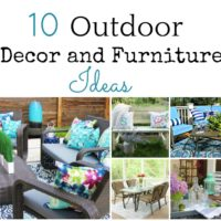 10 Outdoor Furniture and Decor Ideas