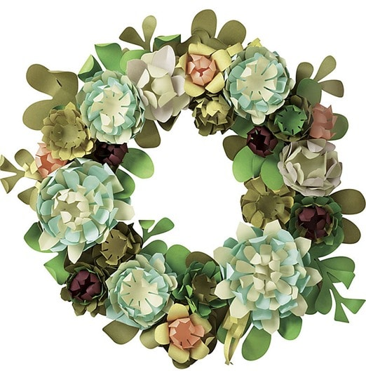 Succulent Wreath Kit