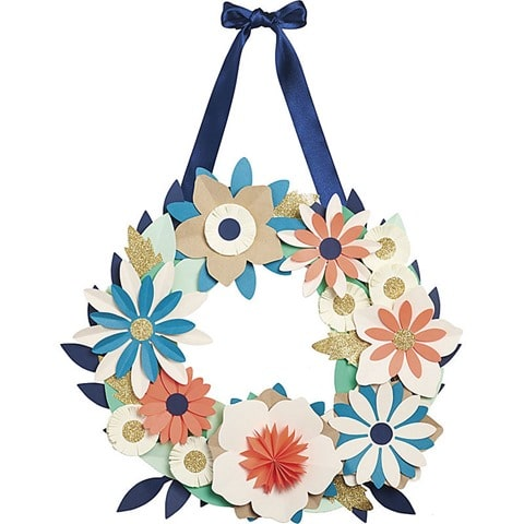Bright Blooming Wreath
