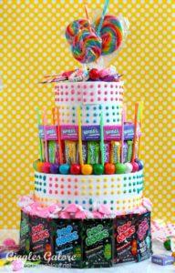 No-Bake Candy Cake