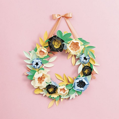 Pastel Petals Wreath Kit