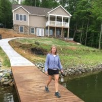 Smith Mountain Lake House Update–Patio and Walkway–Part II