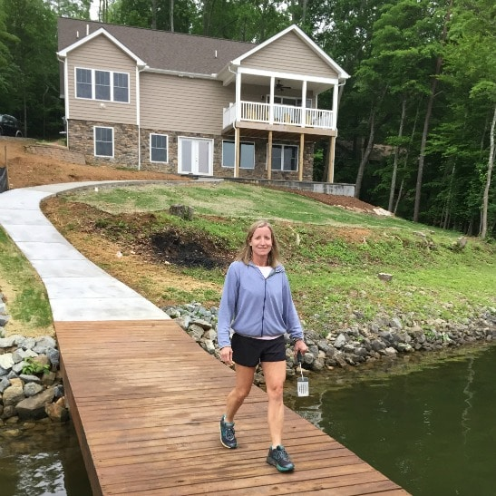 Smith Mountain Lake Patio and Walkway Update