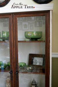 Thrift Shop Cabinet Makeover
