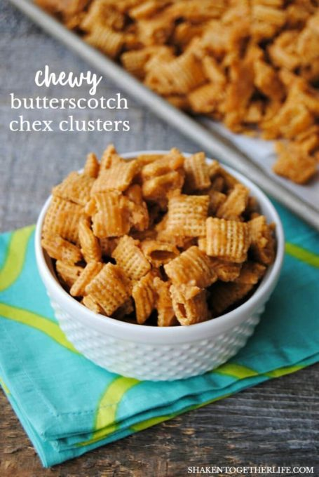 Chewy Butterscotch Chex Clusters