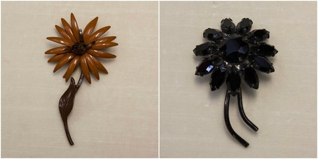 Vintage Floral Pins