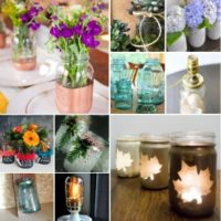 10 Amazing Mason Jar Ideas