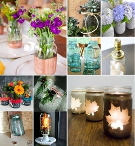 10 Mason Jar Ideas