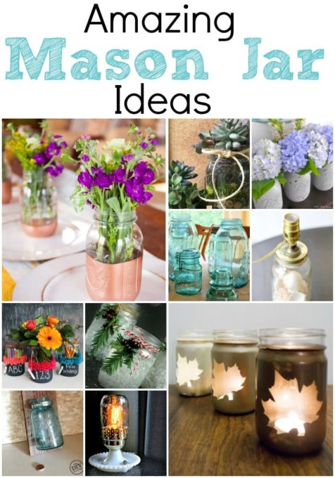 Amazing Mason Jar Ideas - 10 Projects Using Mason Jars That You Can Make - virginiasweetpea.com