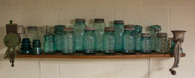 Vintage Mason and Ball Jar Collection