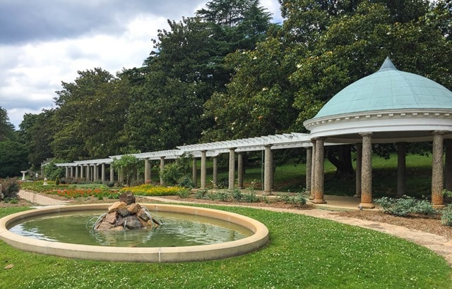 Italian Garden at Maymont in Richmond, Virginia - virginiasweetpea.com