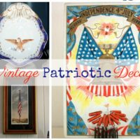 Vintage Monday – Patriotic Decor