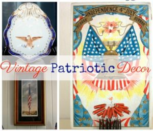 Vintage Monday – Patriotic Decor