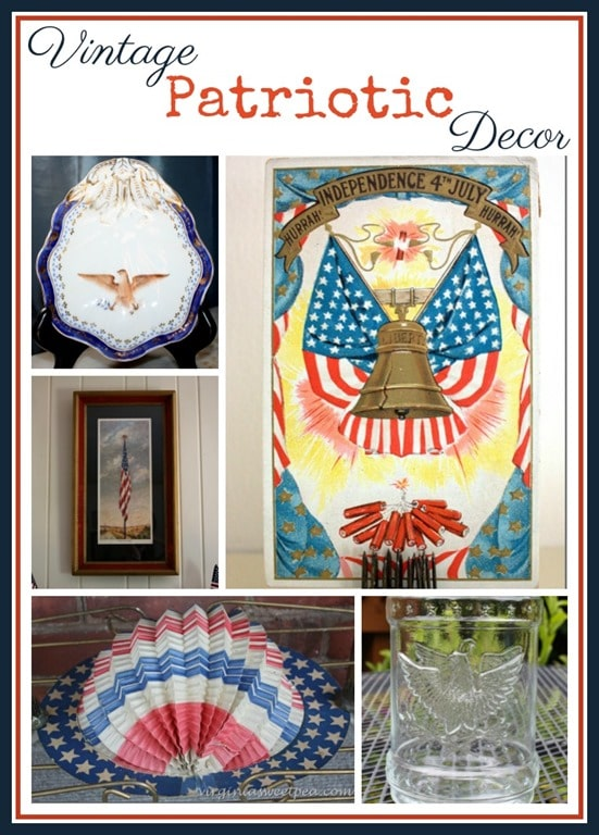 Vintage Patriotic Decor - Many of these collectibles are 100 years old! virginiasweetpea.com