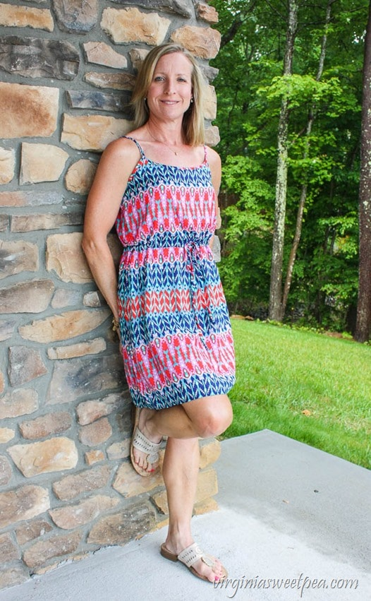 Pixley Dirulo Dress - Stitch Fix Review for June 2017 - virginiasweetpea.com