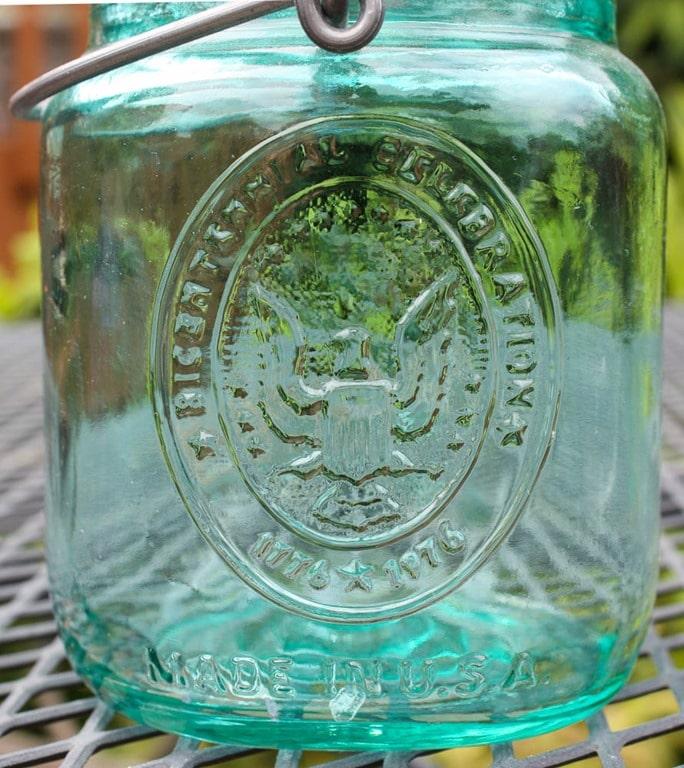 1976 Bicentennial Ball Jar - virginiasweetpea.com