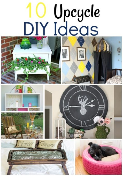 10 Upcycle DIY Ideas - virginiasweetpea.com