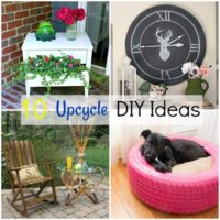 10 Upcycle DIY Ideas
