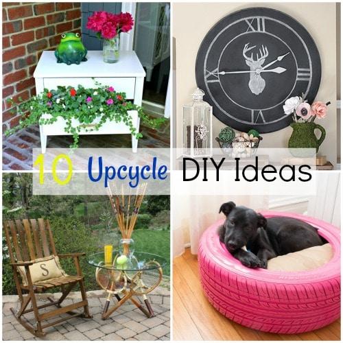 10 Upcycle DIY Ideas