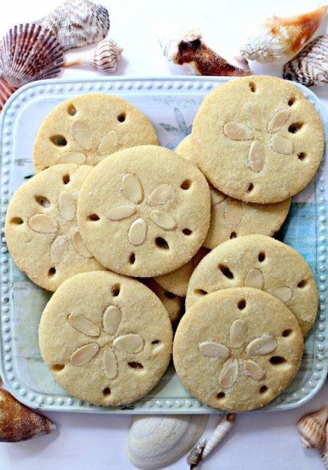 lmond Sand Dollar Cookies