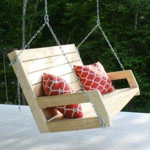 DIY 2×4 Porch Swing