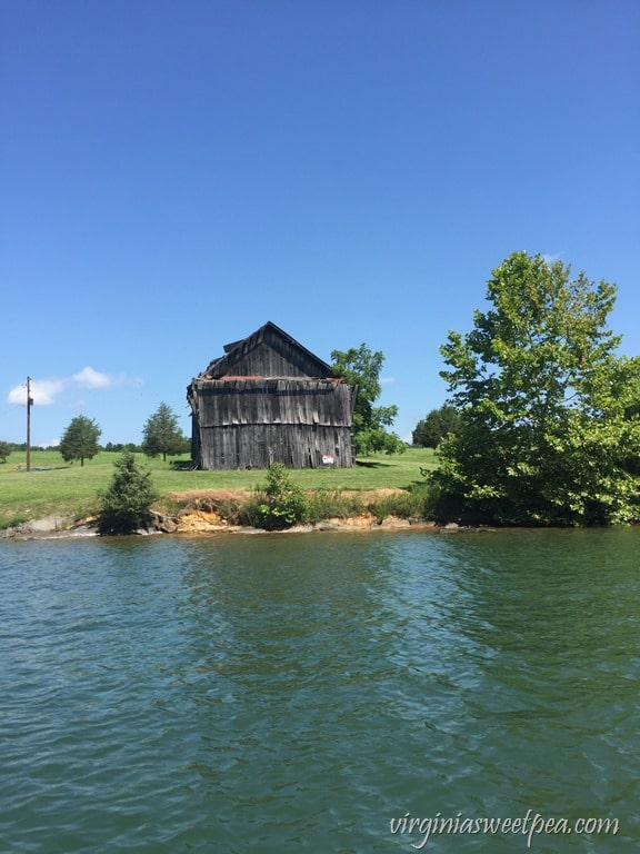 Old Barn at Smith Mountain Lake