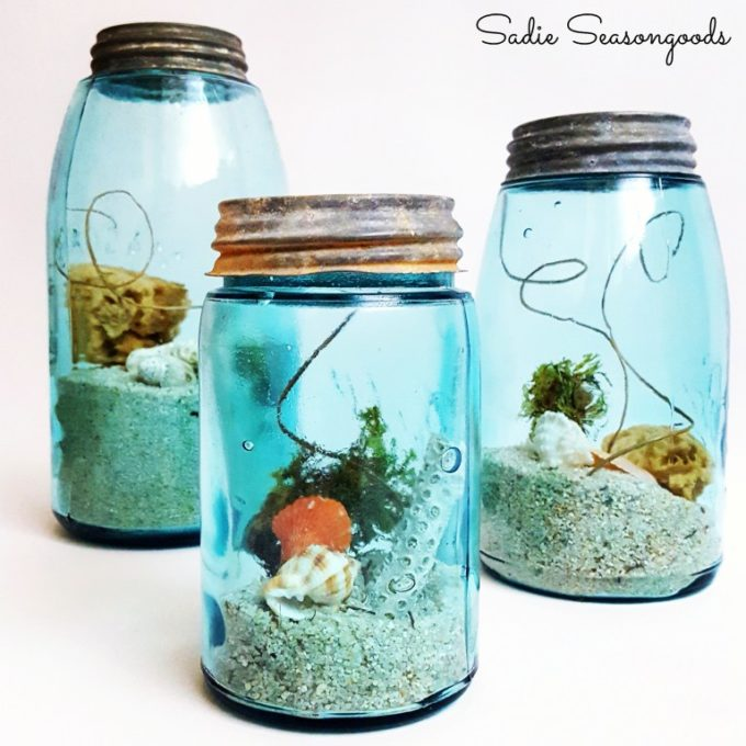 Use Vintage Mason Jars to Create Summer Vignettes