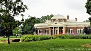 Monticello in Charlottesville, VA