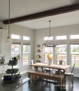 How to Add a Faux Wood Beam to a Ceiling