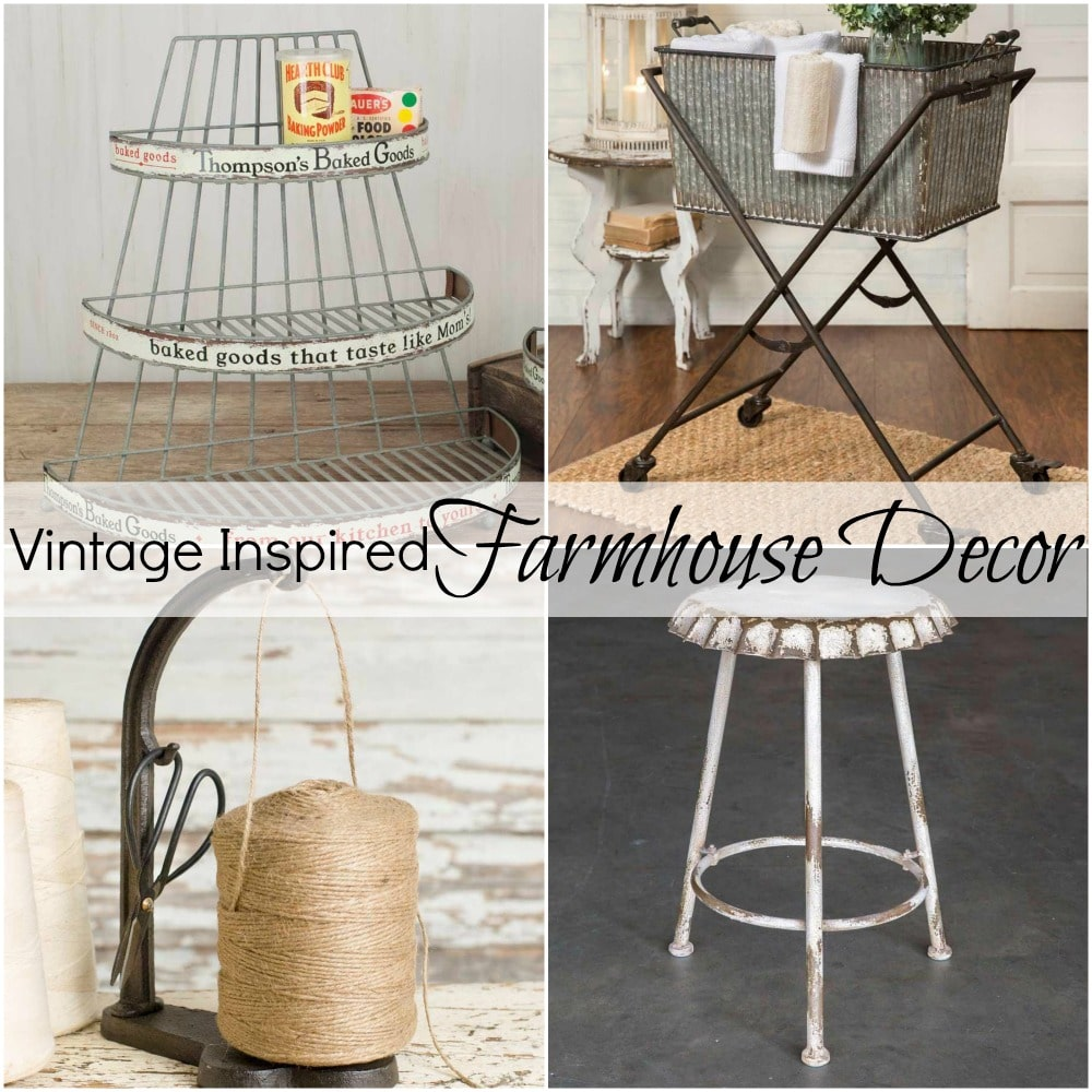 Vintage Inspired Farmhouse Decor