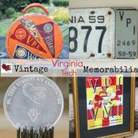 Vintage Virginia Tech Memorabilia