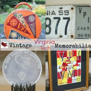Vintage Virginia Tech Memorabilia - A collection of vintage game programs, sheet music, license plates, and more! virginiasweetpea.com