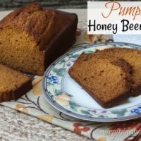 Pumpkin Honey Beer Bread