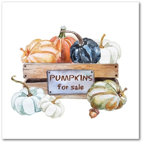 Pumpkins for Sale -Printable Art