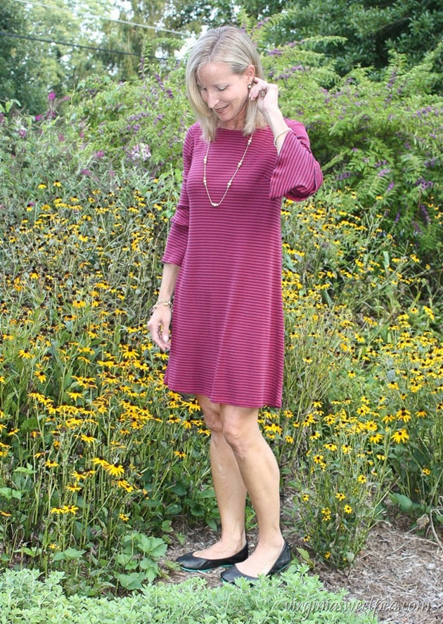 Stitch Fix Review - September 2017 - Kaileigh Katina Knit Dress - virginiasweetpea.com