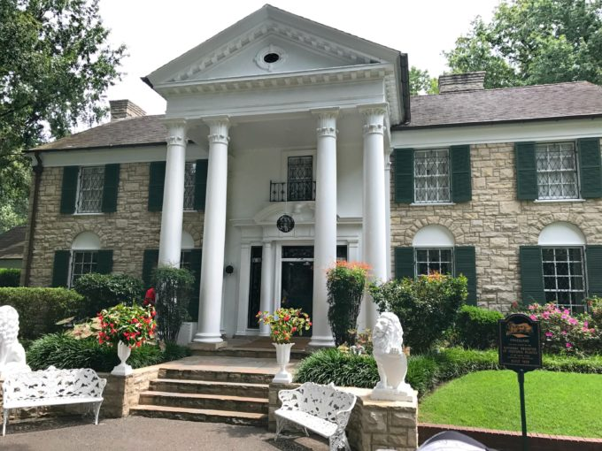 Tour of Elvis Presley's Graceland in Memphis, TN