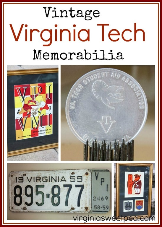 Vintage Virginia Tech Memorabilia - Game schedules, game programs, sheet music and more! See it all at virginiasweetpea.com.