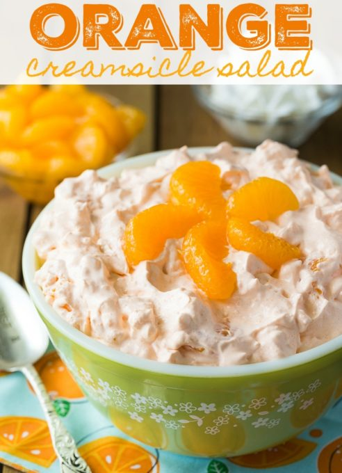 Orange Creamsicle Salad