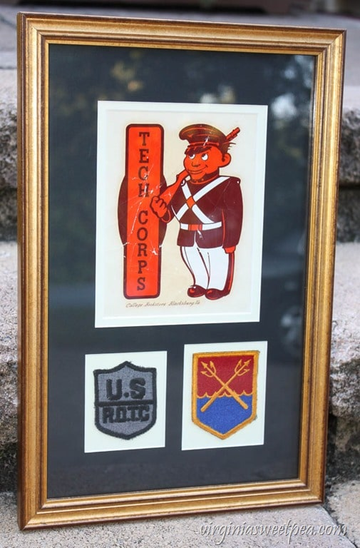 Virginia Tech Corp of Cadets Memorabilia from the late 1950's to early 1960's - virginiasweetpea.com