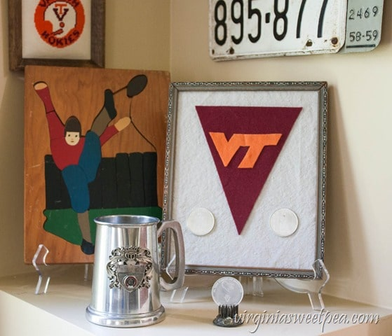 Vintage Virginia Tech Memorabilia and a Vintage Football Puzzle from the 1940's - virginiasweetpea.com