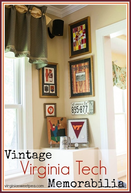 Virginia Tech Memorabilia - Hokies will appreciate this collection of Virginia Tech Memorabilia including game programs, license plates, and much more! virginiasweetpea.com