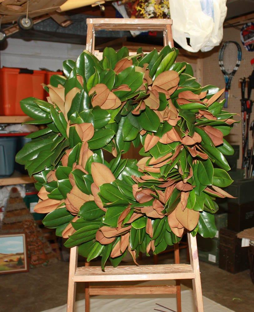 Handmade Magnolia wreath