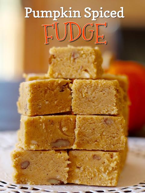 Pumpkin Spiced Fudge