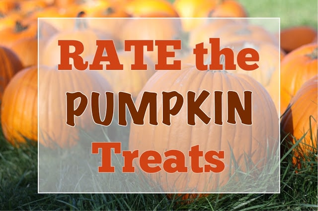 Rate the Pumpkin Treats