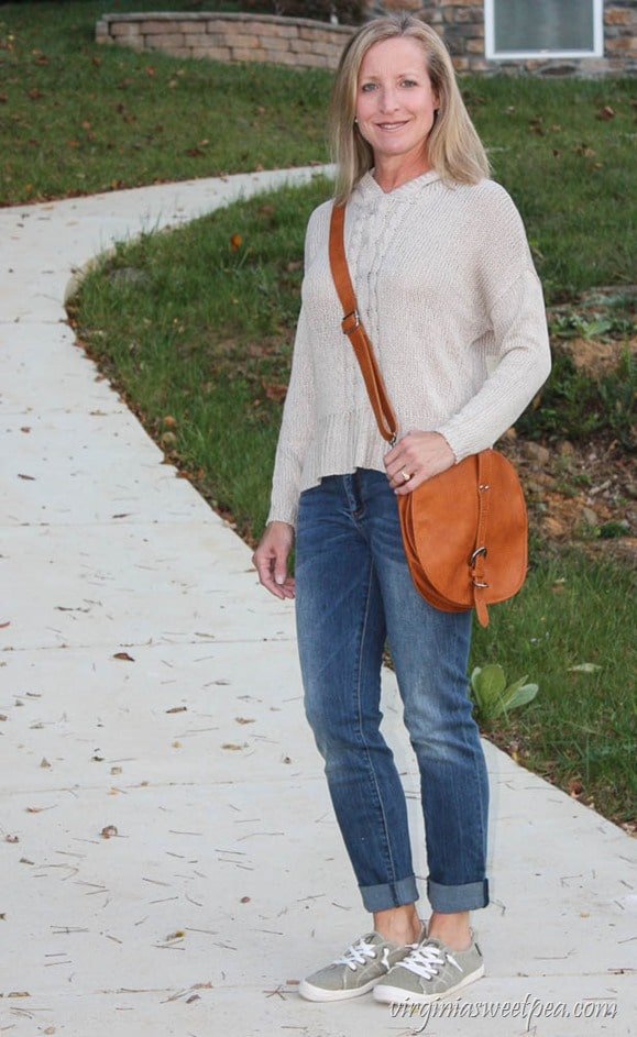 Stitch Fix Review for October 2017 - Linea Pelle Avalonne Saddle Crossbody - virginiasweetpea.com
