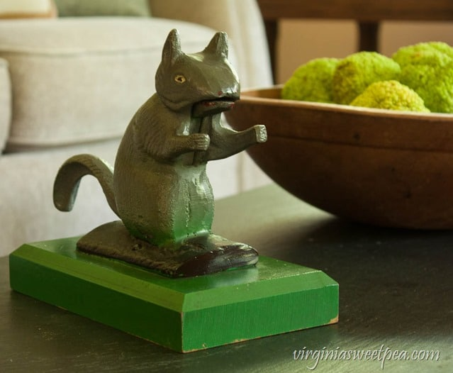 Vintage Squirrel Nut Cracker - virginiasweetpea.com