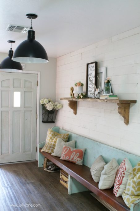 Peel and Stick Shiplap
