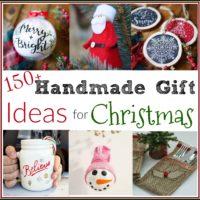 150+ Handmade Gift ideas for Christmas